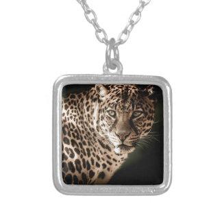 Colar Banhado A Prata Presentes do tigre