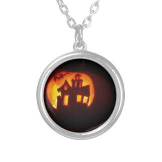 Colar Banhado A Prata Pumpkin_craft_for_Halloween