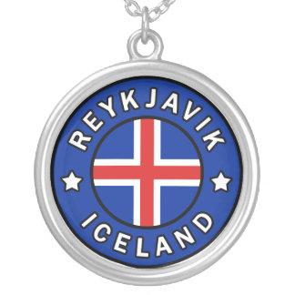Colar Banhado A Prata Reykjavik Islândia