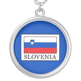 Colar Banhado A Prata Slovenia