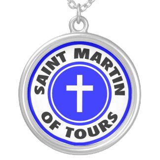 Colar Banhado A Prata St Martin das excursões