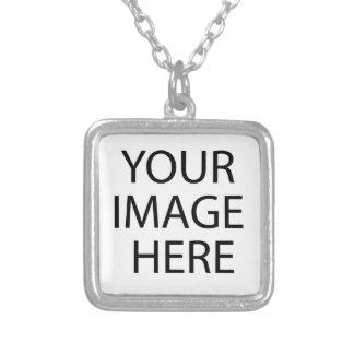 Colar Banhado A Prata Sua imagem aqui