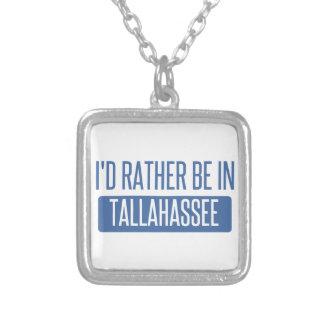 Colar Banhado A Prata Tallahassee