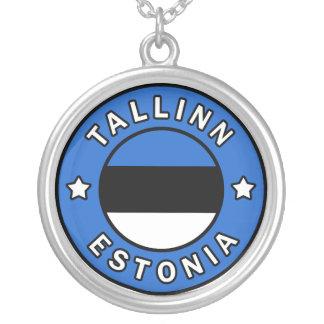 Colar Banhado A Prata Tallinn Estónia