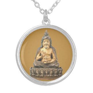 Colar Banhado A Prata Thangtong Gyalpo