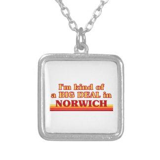 Colar Banhado A Prata Tipo de I´m de uma grande coisa em Norwich