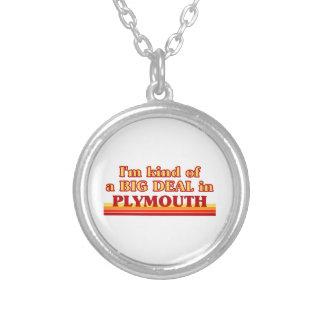 Colar Banhado A Prata Tipo de I´m de uma grande coisa em Plymouth