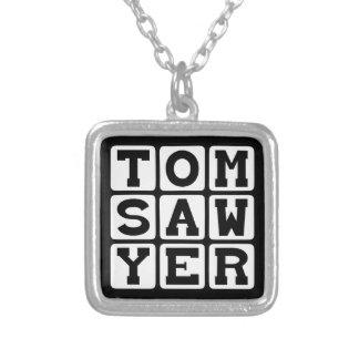 Colar Banhado A Prata Tom Sawyer, livro por Mark Twain