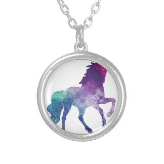 Colar Banhado A Prata unicorn-2007266_1920