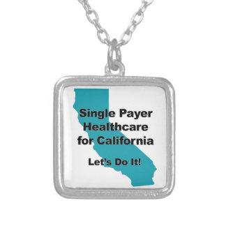 Colar Banhado A Prata Únicos cuidados médicos do pagador para Califórnia