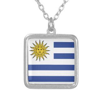 Colar Banhado A Prata Uruguai