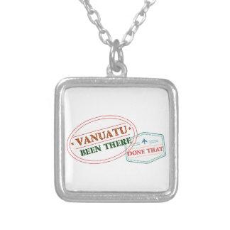 Colar Banhado A Prata Vanuatu feito lá isso