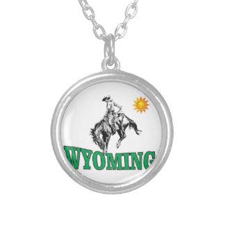Colar Banhado A Prata Vaqueiro de Wyoming