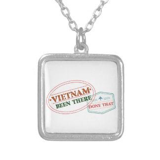 Colar Banhado A Prata Vietnam feito lá isso