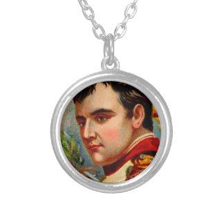 Colar Banhado A Prata Vintage de Napoleon