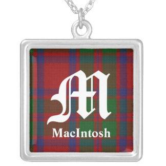 Colar clássica de Macintosh do clã do monograma