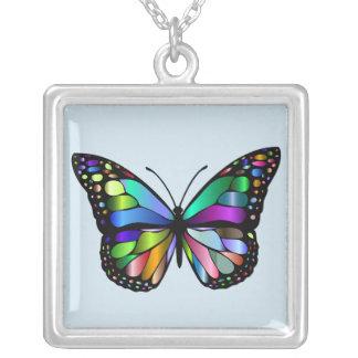 Colar colorida da borboleta de monarca