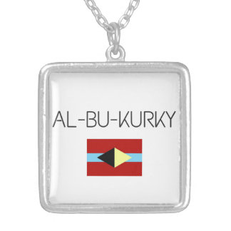 Colar com símbolo de AL-BU-KURKY