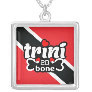 Colar da bandeira de Trinidad and Tobago