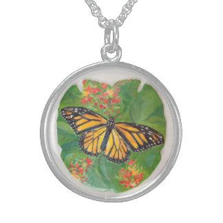 Colar da borboleta de monarca