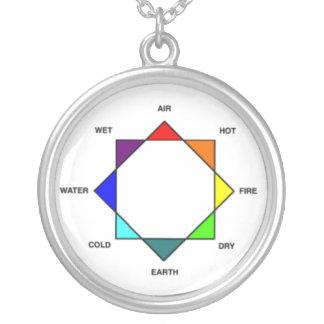 Colar da estrela de quatro elementos