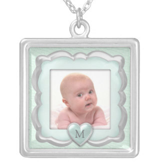 Colar da foto do bebê