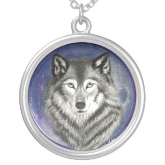 Colar da lua do lobo
