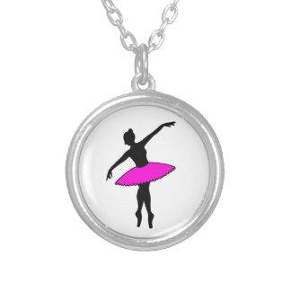 Colar de néon da dança do balé do tutu do rosa da