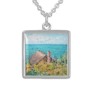 Colar De Prata Esterlina Claude Monet a cabine em belas artes do
