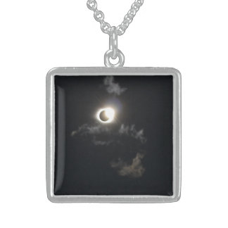 Colar De Prata Esterlina eclipse