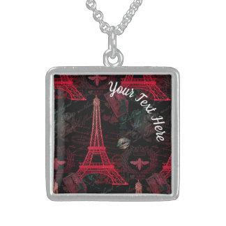 Colar De Prata Esterlina Paris: Excursão Eiffel do La
