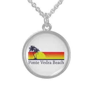 Colar De Prata Esterlina Ponte Vedra Beach