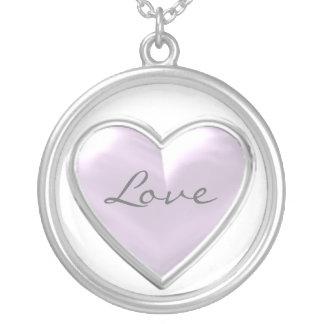 Colar do amor de Purple Heart
