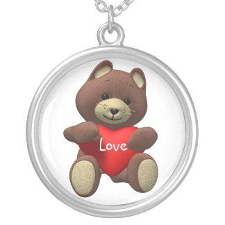 Colar do amor do urso de ursinho