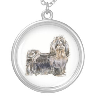 Colar do cão de Shih Tzu