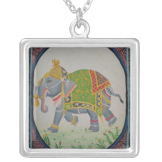 Colar do elefante indiano