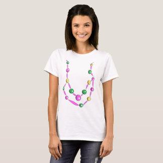 Colar do grânulo do carnaval camiseta