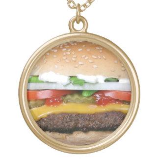 Colar do hamburguer