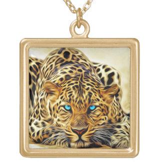 colar do leopardo do fractal