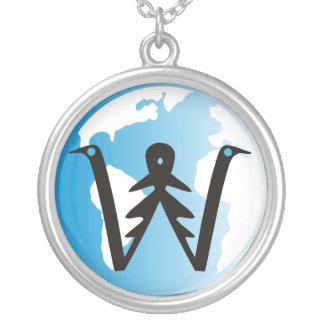 Colar do logotipo de WorldwideXplorer®