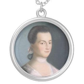 Colar do retrato de Abigail Adams