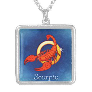 Colar do zodíaco da Escorpião