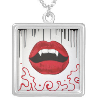 Colar dos lábios do vampiro