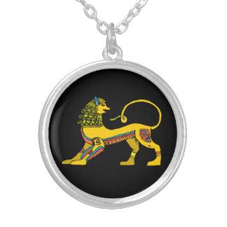 Colar egípcia do leão