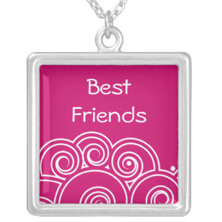 Colar encantador dos melhores amigos do redemoinho