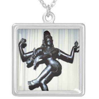 Colar Hindu da prata esterlina de Shiva