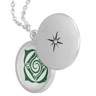 Colar Medalhão bijuteria mandala