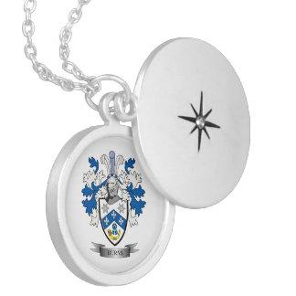 Colar Medalhão Brasão da crista da família das queimaduras
