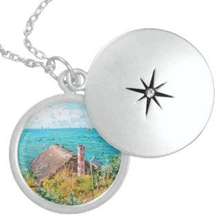 Colar Medalhão Claude Monet a cabine em belas artes do