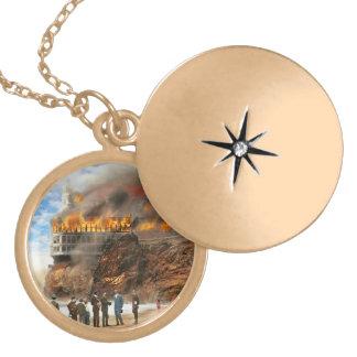 Colar Medalhão Fogo - fogo 1907 de Cliffside